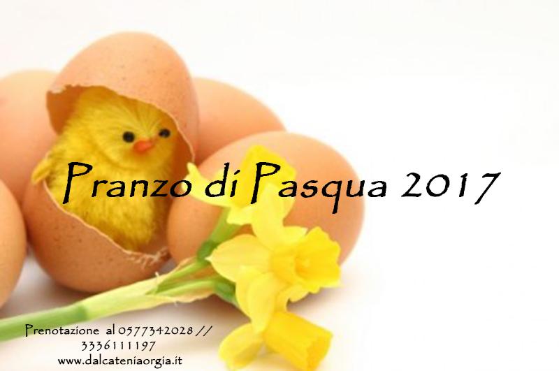 Pranzo di Pasqua 2017